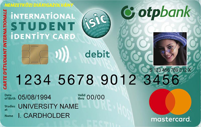 Mastercard Online ISIC betéti kártya