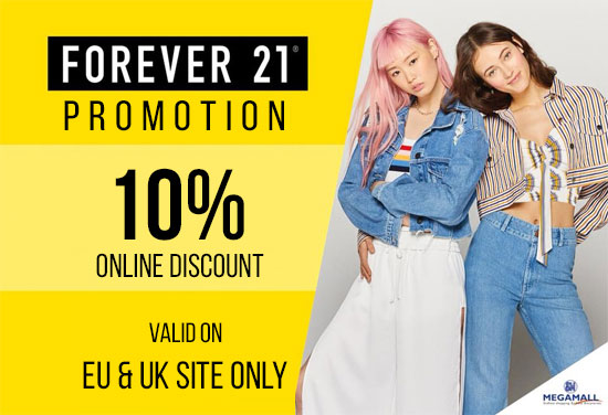 forever 21 discount code us